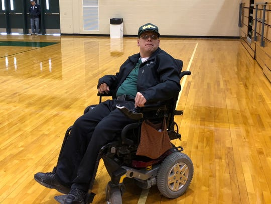 Ryan Kempf attended Forest Park's practice Wednesday afternoon.