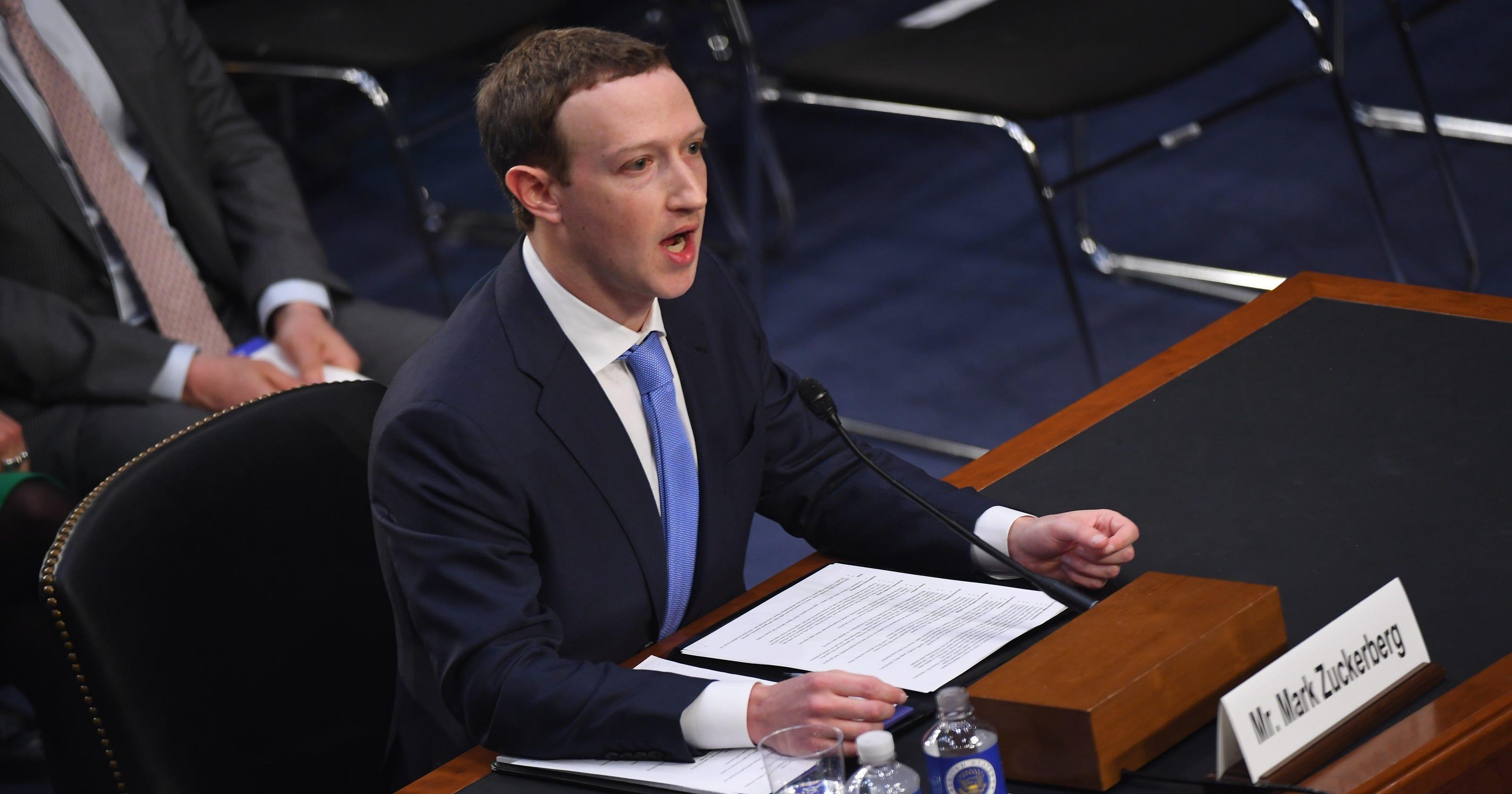 Senators Want Answers On Idea Website >> Senators To Zuckerberg We May Need To Regulate Facebook