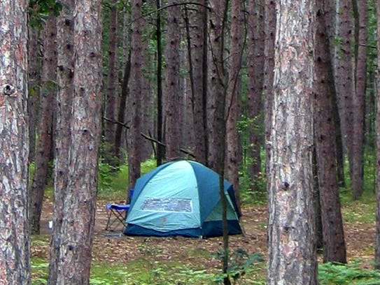 Campers can reserve sites at Michigan state parks six