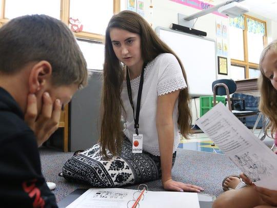 Marshfield High School senior Jenny Scheppler works