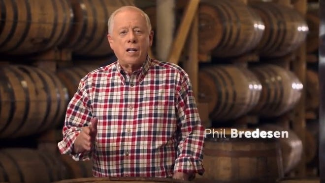 Phil Bredesen in latest television ad.