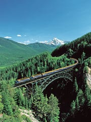 Southwest Florida Wine & Food Fest Auction Lot No. 18: Pacific Coat Rail Gold Leaf Service in the Canadian Rockies.