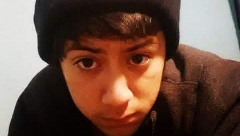 A submitted photo of 14-year-old runaway David Armando Maciel, who was reported missing on Tuesday.