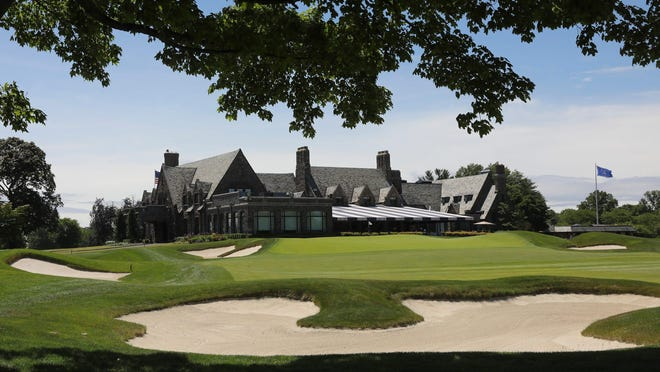 A view of the clubhouse at Winged Foot Golf Club in Mamaroneck on Wednesday, June 17, 2020.