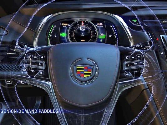 Cadillac ELR Regen on Demand