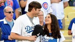 Ashton Kutcher and Mila Kunis announced the Los Angeles