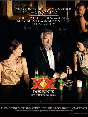 An ad for Dos Equis.