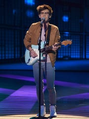 """Singer MacKenzie Bourg of Lafayette performs """"I Wanna Dance with Somebody"""" on """"American Idol."""""""