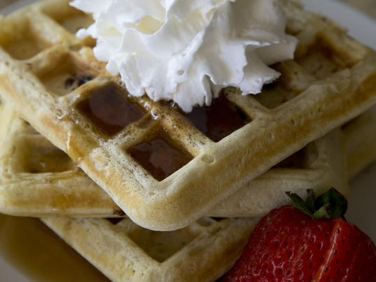 Candy-Spiked Waffles from Robin Miller.