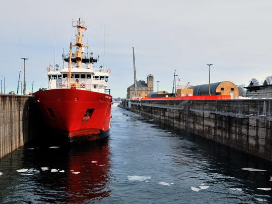USCGC MackinawSoo Locks