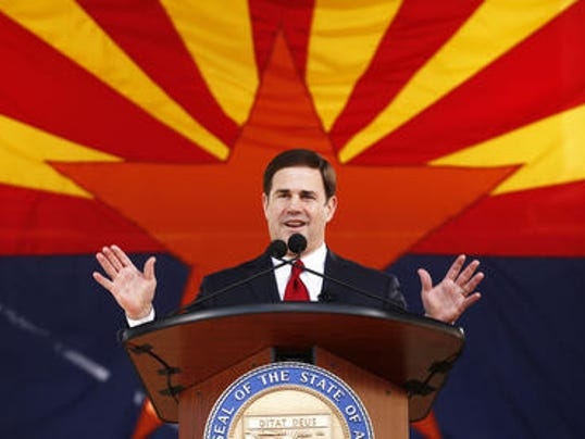It pays (well) to be on Gov. Doug Ducey's staff