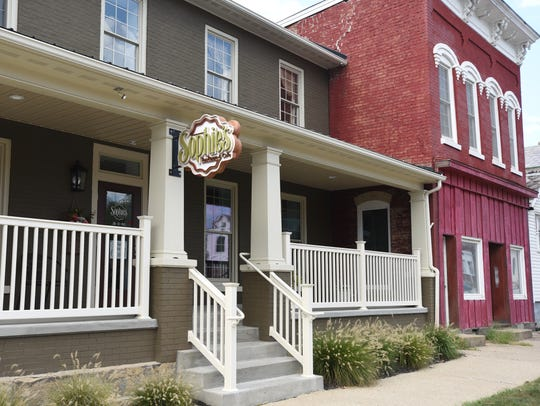 Sophie's Tea Room and Cafe is located at 120 W. Main