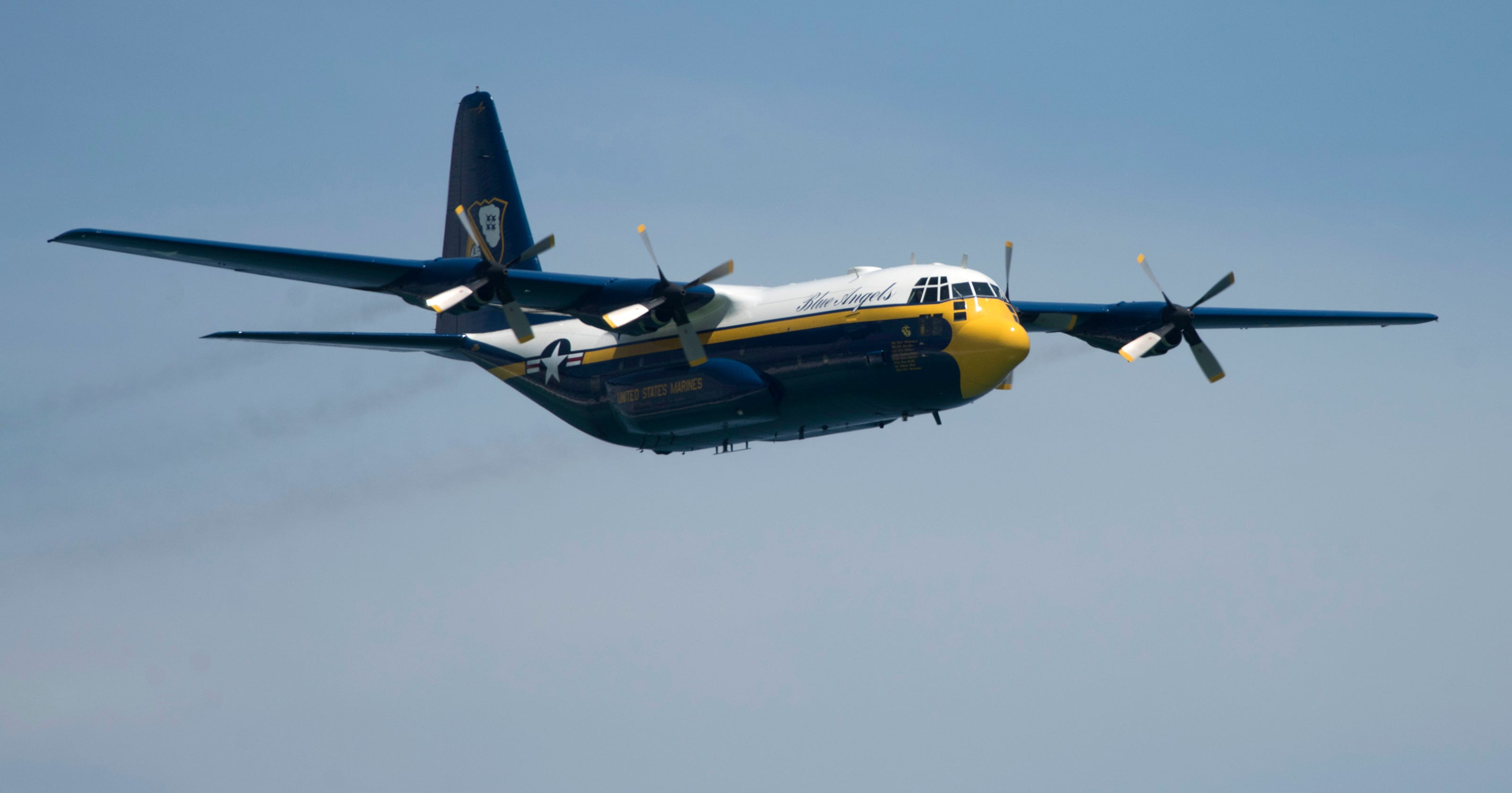 Blue Angels retire beloved Fat Albert after more than 30,000 flight hours