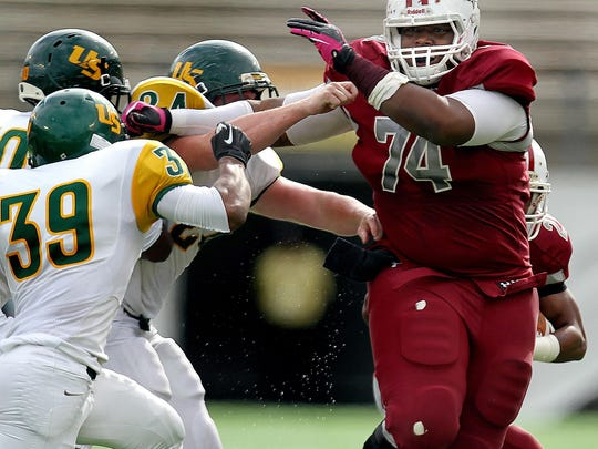 Madison County's Ira Denson was the top local recruit and a 4-star offensive lineman in 2013. He signed to play for FSU.