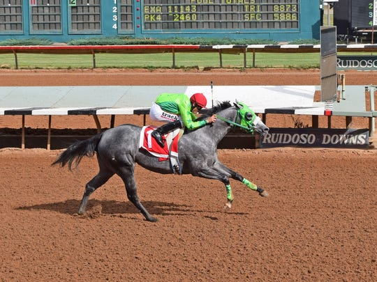 Running Dragon was the second fastest qualifier for the Zia Futurity on Saturday at Ruidoso Downs Race Track and Casino. Jose Enrique Ortiz was the winning jockey and Juan Gonzalez was the winning trainer.