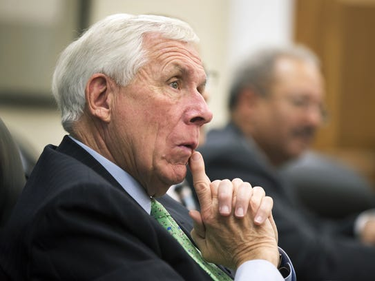 Former Rep. Frank Wolf, R-Va., is pictured Capitol