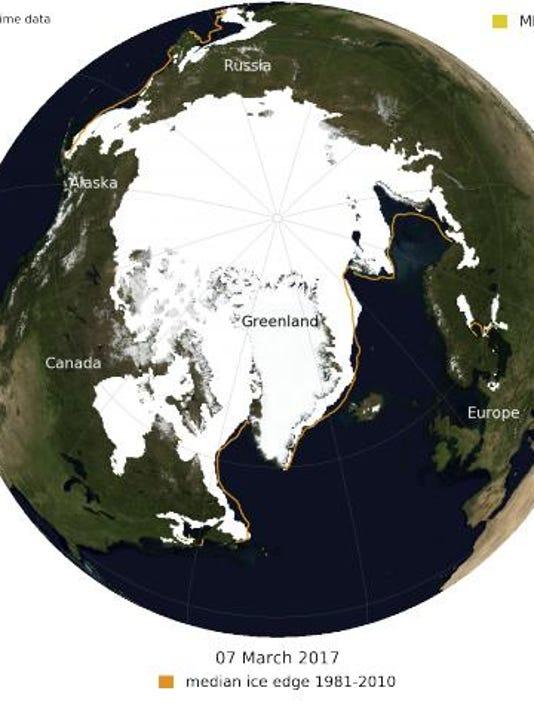 Shrinking Sea Ice