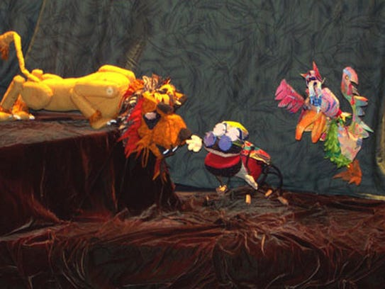 Puppet show performances of 'Anansi the Spider' will be held at various Nashville Public Library locations in February.