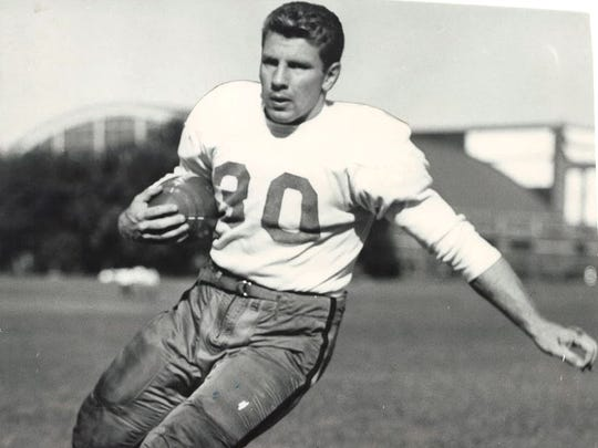 Bill Reichardt, RB, Iowa City High: All-state pick in 1947. He went on to become the Big Ten Conference's Most Valuable Player and a first-team all-conference selection in 1951. He was later drafted by the Green Bay Packers.