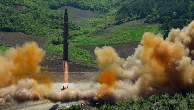 July's launch of an intercontinental ballistic missile in North Korea was but one act of provocation by Kim Jong Un's regime.