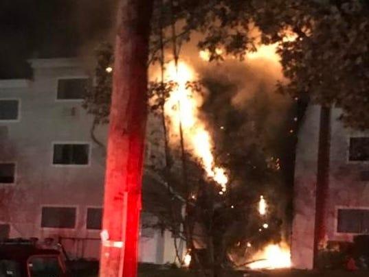Springvale apartment fire