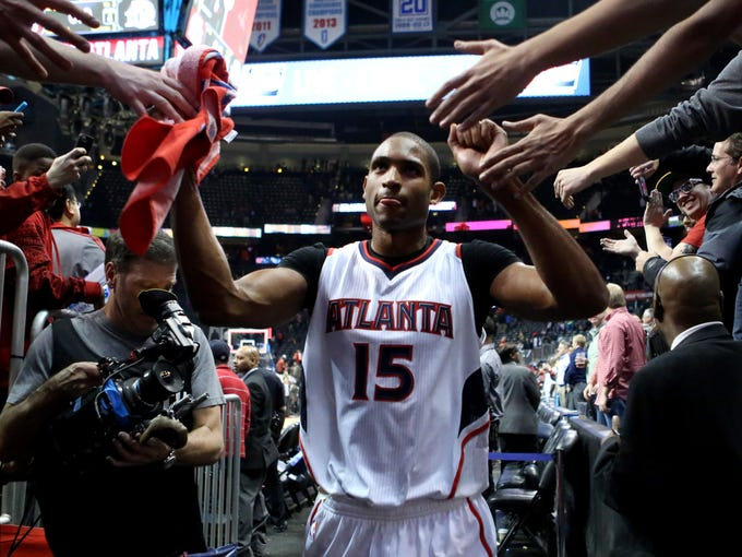 Al Horford and the Atlanta Hawks have soared to the