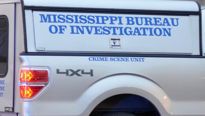 A Mississippi Bureau of Investigation Crime Scene Unit