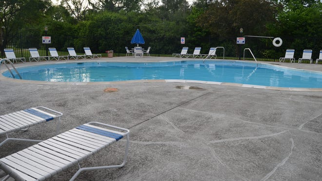 A 12-year-old boy died Tuesday after being pulled from the pool at the Chateau in the Woods Apartments complex,  4020 Monaco Drive.
