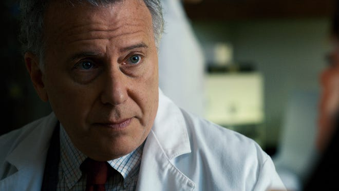 """Paul Reiser as Dr. Owens in a scene from Season 2 of the Netflix smash hit """"Stranger Things."""" The Duffer Brothers wrote the character with Reiser in mind."""