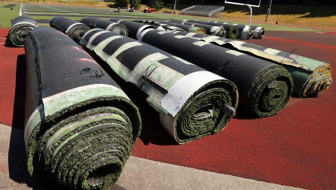 Several high schools in Kitsap have had artificial turf fields installed over the last decade, including Olympic, North Kitsap and Bainbridge.