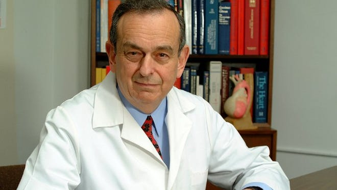 Dr. Arthur J. Moss, a prominent  cardiologist at the University of Rochester Medical Center. (2002 photo)