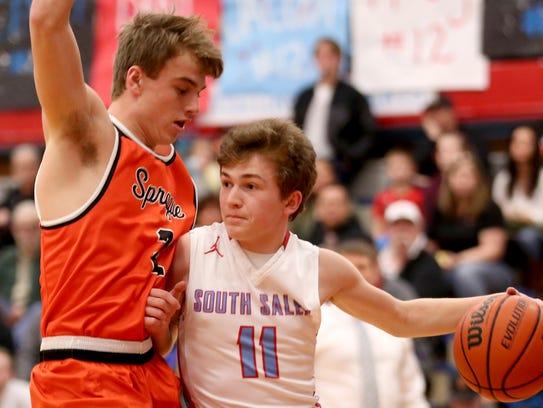 Tyler Wadleigh, South Salem basketball