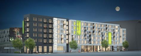 Construction Begins At Five Fifty Ultra Lofts Apartments Near Milwaukee  Bucks Arena