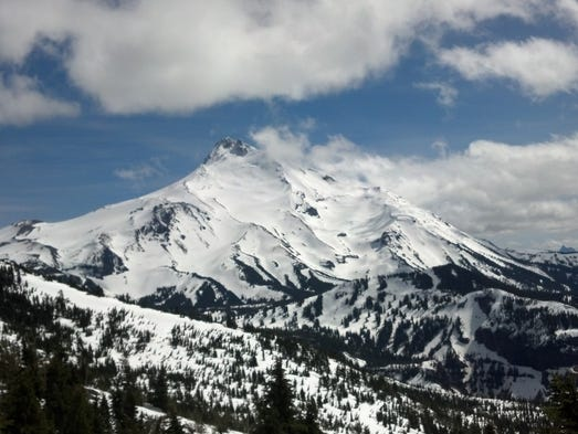 Best steep and scenic trails near Salem. No. 1 — Bear Point offers epic views of Mount Jefferson on a very difficult trail.