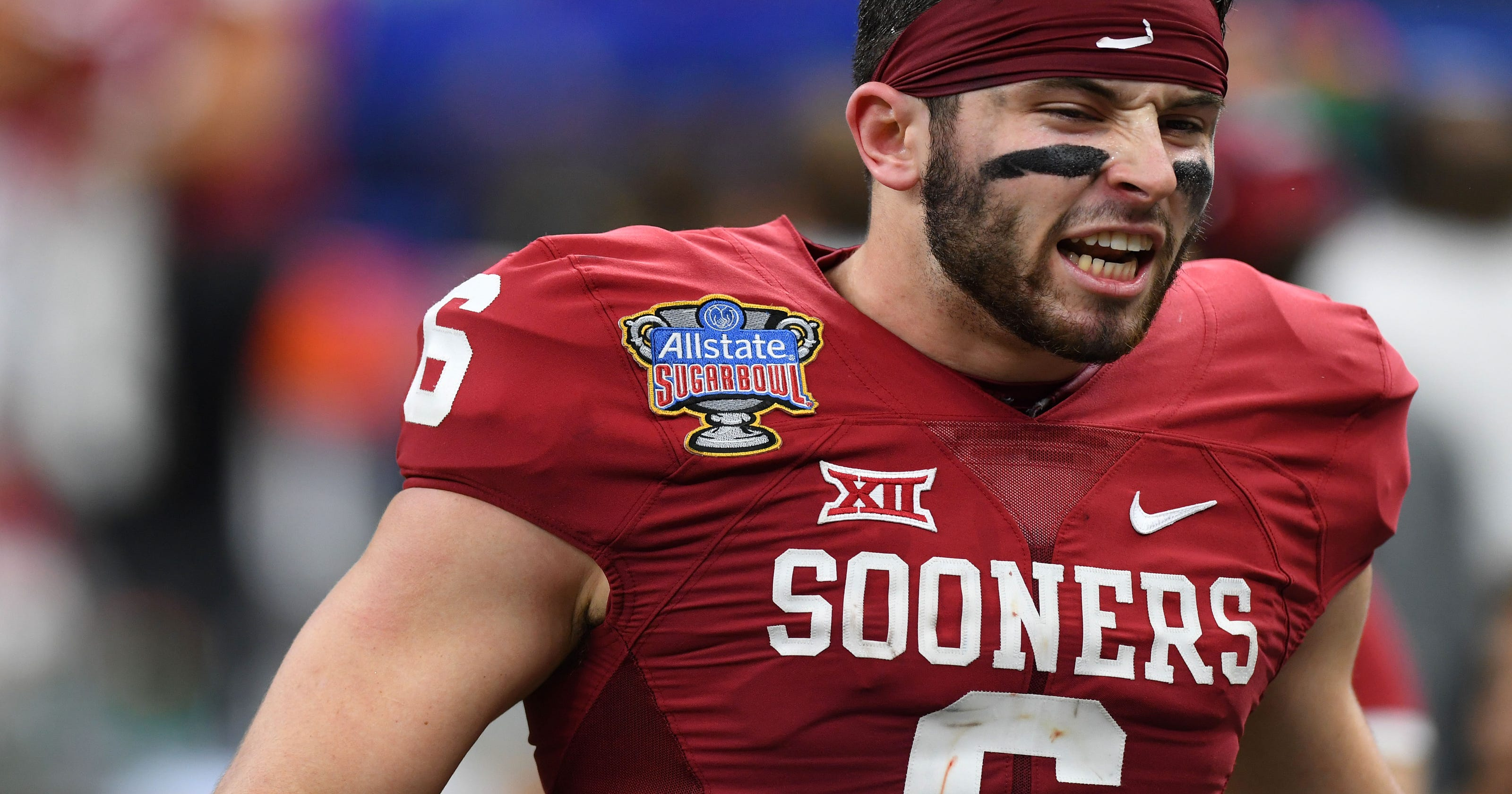 1db2dfe05 Oklahoma quarterback Baker Mayfield arrested in Arkansas