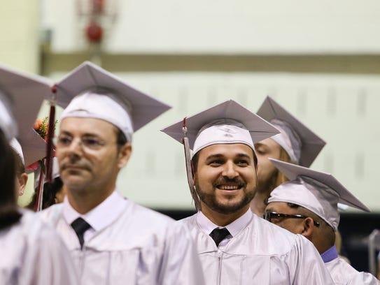 Count College of Morris graduation at Mennen Arena
