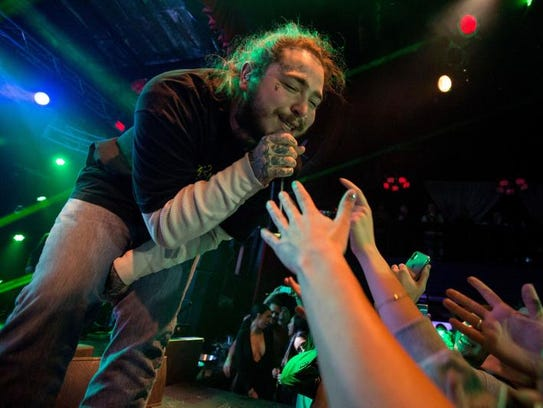 Post Malone will perform at Rawhide Event Center on