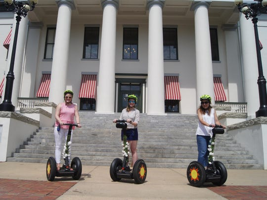 Tallahassee Segway Tours provides a guided tour and simple way to get an overview of the town and its interesting highlights while enjoying the out-of-doors. Glide past the historical state capital, monuments, around fountains, through alleyways, past plazas and parks that offer a special view unavailable by car.