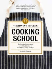 "Alison Cayne wrote ""The Haven's Kitchen Cooking School."""