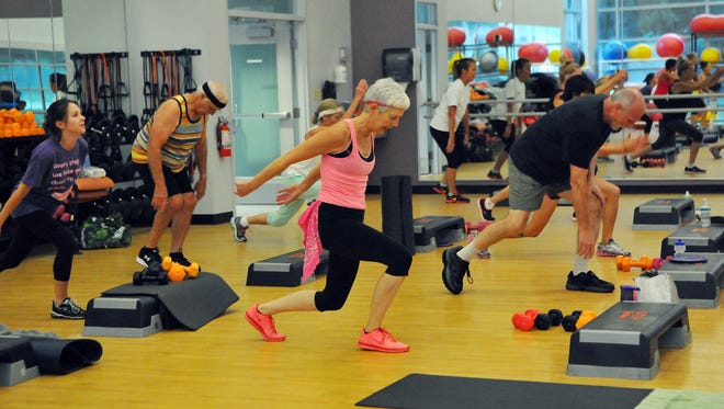 Tabata Bootcamp held at Parrish Health and Fitness in Titusville.