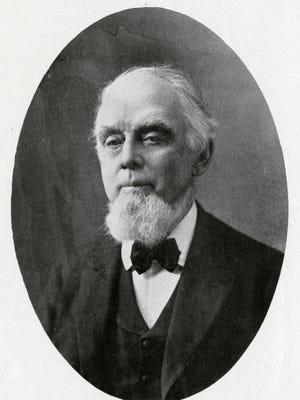 Professor Johnathan Fairbanks, 1907. That year, Fairbanks gifted 125 volumes of Civil War records to the Carnegie Library in Springfield.