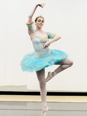 Shreveport Metropolitan Ballet's principal ballet dancer,
