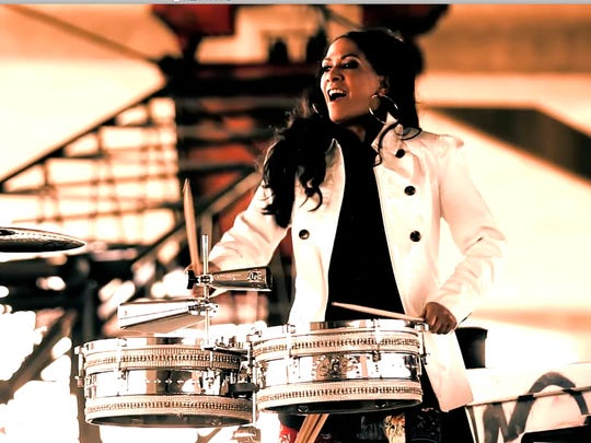 Sheila E can play jazz percussion.