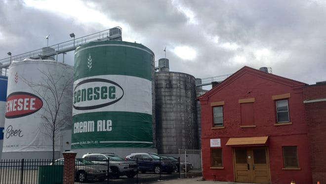 The owner of Genesee Brewery is seeking to remove the building on the right as part of its upgrade plans.