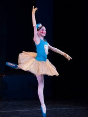 """Medea Cullumbine-Robertson of Woodburn will dance in the Portland Ballet's production of """"The Enchanted Toy Shop"""" at Portland State University on Thanksgiving weekend."""