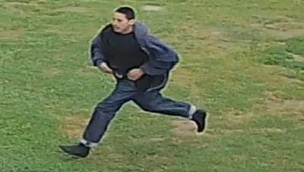 An image of a shooting suspect was captured after a teen was shot just outside King City High School on Tuesday.