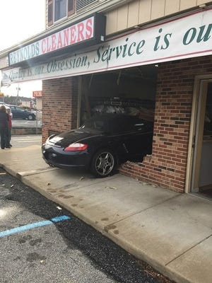 A man crashed his vehicle into a Hockessin business Tuesday morning.