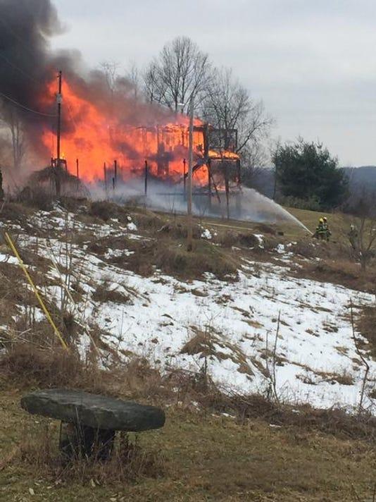 COS Ohio 541 structure fire