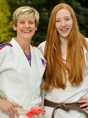 Two women from Club Olympia Judo in Fond du Lac will represent team USA in El Salvador for the Junior Pan American Championships. Lauren DeSmidt, right, was selected to compete in the -63 kg Cadet division as one of the top female players in the United States. Lynn Roethke, left, will serve as one of the U.S. team coaches for the event.