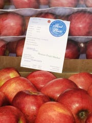 Dwight Mickey of Shatzer Fruit Market, Chambersburg, won 164 prizes in the fruit competition.